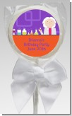 Mad Scientist - Personalized Birthday Party Lollipop Favors