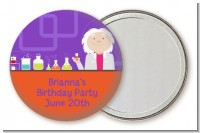 Mad Scientist - Personalized Birthday Party Pocket Mirror Favors