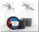 Magic - Birthday Party Black Candle Tin Favors