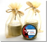 Magic - Birthday Party Gold Tin Candle Favors