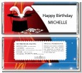 Magic - Personalized Birthday Party Candy Bar Wrappers thumbnail