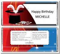 Magic - Personalized Birthday Party Candy Bar Wrappers
