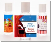 Magic - Personalized Birthday Party Hand Sanitizers Favors
