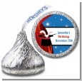 Magic - Hershey Kiss Birthday Party Sticker Labels thumbnail