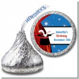 Magic - Hershey Kiss Birthday Party Sticker Labels