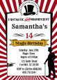 Vintage Magic - Birthday Party Invitations thumbnail