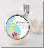 Margarita Drink - Personalized Bridal Shower Candy Jar