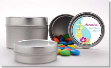 Margarita Drink - Custom Bridal Shower Favor Tins