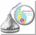 Margarita Drink - Hershey Kiss Bridal Shower Sticker Labels thumbnail