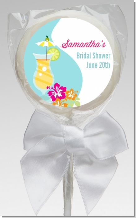 Margarita Drink - Personalized Bridal Shower Lollipop Favors