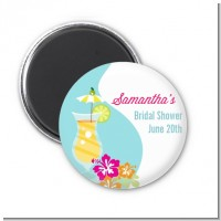 Margarita Drink - Personalized Bridal Shower Magnet Favors