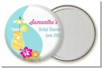 Margarita Drink - Personalized Bridal Shower Pocket Mirror Favors