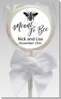 Meant To Bee - Personalized Bridal Shower Lollipop Favors