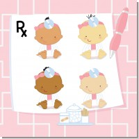 Little Girl Doctor On The Way Baby Shower Theme