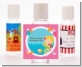 Mermaid Blonde Hair - Personalized Birthday Party Hand Sanitizers Favors thumbnail