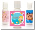 Mermaid Blonde Hair - Personalized Birthday Party Lotion Favors thumbnail