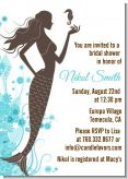 Mermaid - Bridal Shower Invitations