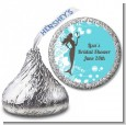 Mermaid - Hershey Kiss Bridal Shower Sticker Labels thumbnail
