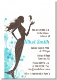 Mermaid - Bridal Shower Petite Invitations