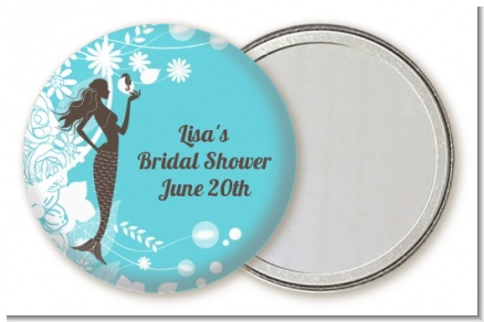 Mermaid - Personalized Bridal Shower Pocket Mirror Favors