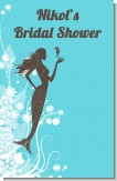 Mermaid - Personalized Bridal Shower Wall Art