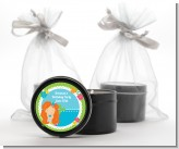 Mermaid Red Hair - Birthday Party Black Candle Tin Favors