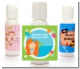 Mermaid Red Hair - Personalized Birthday Party Lotion Favors thumbnail