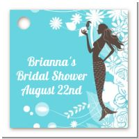 Mermaid - Personalized Bridal | Wedding Card Stock Favor Tags
