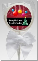 Merry and Bright - Personalized Christmas Lollipop Favors
