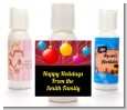 Merry and Bright - Personalized Christmas Lotion Favors thumbnail