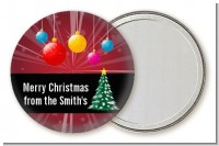Merry and Bright - Personalized Christmas Pocket Mirror Favors