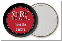 Merry Christmas - Personalized Christmas Pocket Mirror Favors