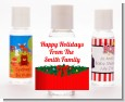 Merry Christmas Wreath - Personalized Christmas Hand Sanitizers Favors thumbnail