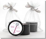 Microphone - Birthday Party Black Candle Tin Favors