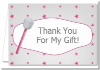Microphone - Birthday Party Thank You Cards