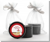 Milk & Cookies - Birthday Party Black Candle Tin Favors
