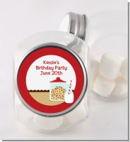 Milk & Cookies - Personalized Birthday Party Candy Jar