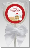 Milk & Cookies - Personalized Birthday Party Lollipop Favors