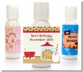 Milk & Cookies - Personalized Birthday Party Lotion Favors