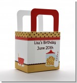 Milk & Cookies - Personalized Birthday Party Favor Boxes