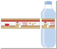 Milk & Cookies - Personalized Birthday Party Water Bottle Labels