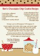 Milk & Cookies - Birthday Party Recipe Card thumbnail
