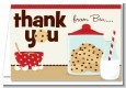 Milk & Cookies - Birthday Party Thank You Cards thumbnail