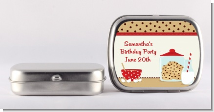 Milk & Cookies - Personalized Birthday Party Mint Tins