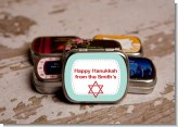 Celebrate Hanukkah - Personalized Hanukkah Mint Tins