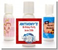 Minute To Win It Inspired - Personalized Birthday Party Lotion Favors thumbnail