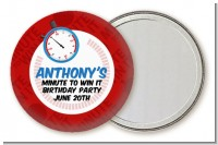 Minute To Win It Inspired - Personalized Birthday Party Pocket Mirror Favors