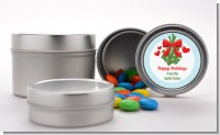 Mistletoe - Custom Christmas Favor Tins