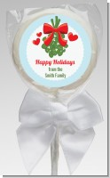 Mistletoe - Personalized Christmas Lollipop Favors