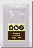 Modern Baby Green Polka Dots - Baby Shower Goodie Bags